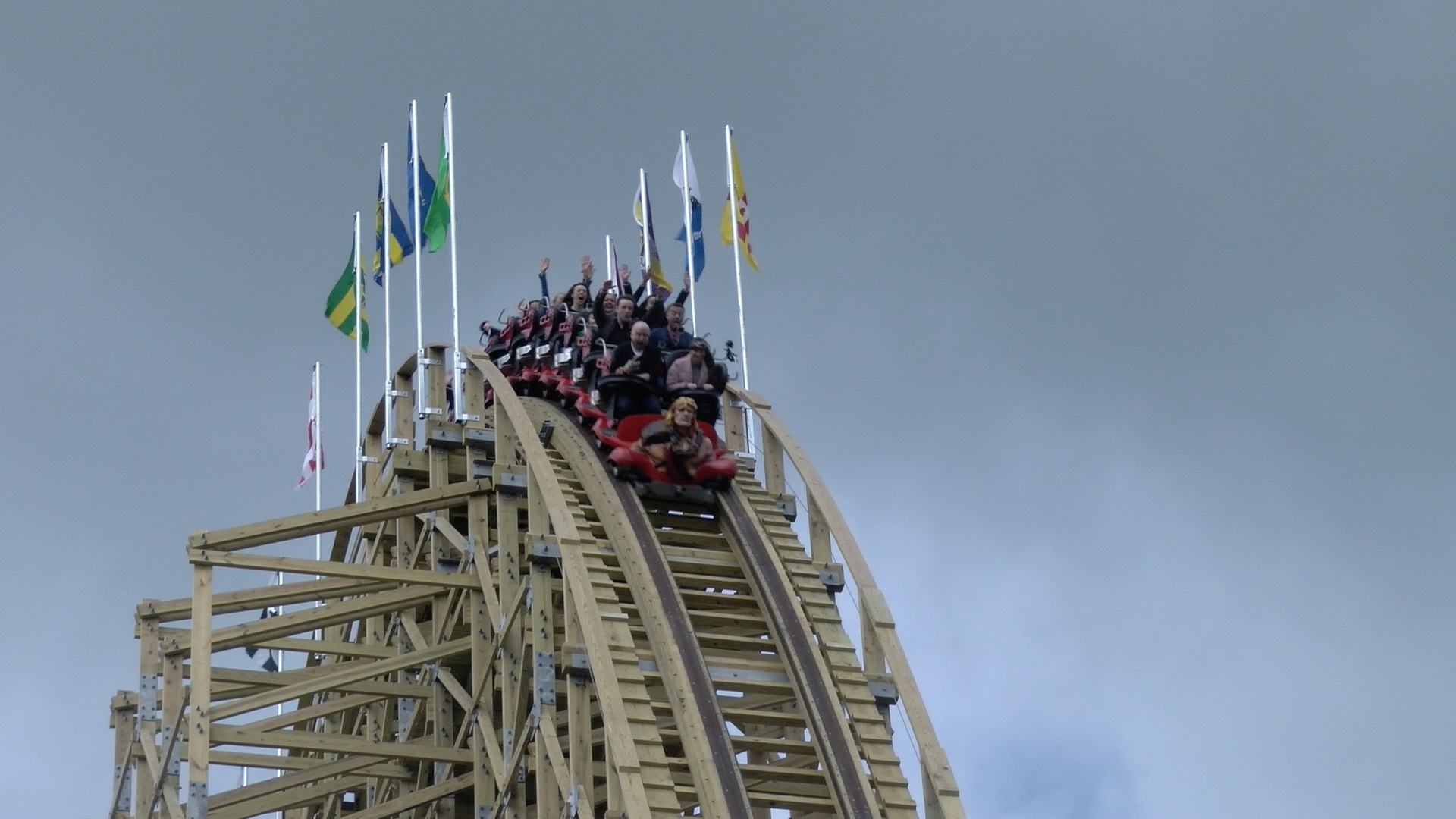 Europes Largest Wooden Rollercoaster Opens In Tayto Park
