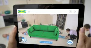 Metaio augmented reality has been used by Ikea. The firm has been bought by Apple