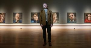 Belfast artist Colin Davidson. Silent Testimony, a new  exhibition by the artist  exploring the theme of suffering and loss in the Troubles, opens today. Photograph: Darren Kidd/Press Eye