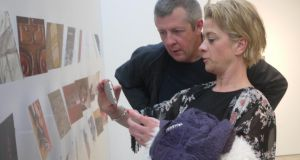 People take in Exchange at Visual, Carlow
