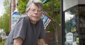 Author Stephen King. Photograph: Stacey Cramp/The New York Times