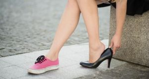 'I can live a full life without ever wearing shoes that bring me four inches closer to the clouds.' Photograph: Thinkstock