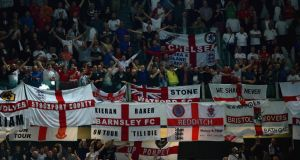 "FIFA has made ""official contact with The FA to express concerns about anti-IRA chanting during the recent fixture against Italy in Turin and with the Ireland fixture in mind.""Photograph: Getty"