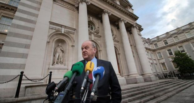 'Were the department's concerns about other asset sales and borrower relationships legitimate?' Above, Minister for Finance, Michael Noonan.  Photograph: Nick Bradshaw