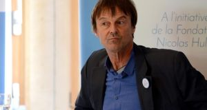 Nicolas Hulot, the French president's envoy, said there was a new awareness on the part of the world's two biggest sources of greenhouse gas emissions. Photograph: Frederic Stevens/Getty Images
