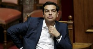 Greece's prime minister Alexis Tsipras. Mr Tsipras warned international lenders not to impose 'humiliating' terms on Greece. Photograph: Alkis Konstantinidis/Reuters