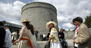 Bloomsday at the Martello tower at Sandycove, Dublin, in 2008. Photograph: Eric Luke