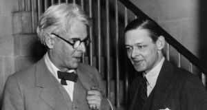 Creative power: WB Yeats with his fellow poet TS Eliot around 1925. Photograph: Hulton/Getty