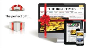 Gift subscriptions to The Irish Times