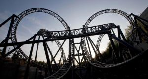 The Smiler ride at Alton Towers Resort in Staffordshire – one of the people seriously injured in last week's  crash has had her left leg amputated. Photograph: PA