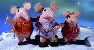 They're back: after several decades presumably lost in space The Clangers return for a new series by Factory Transmedia. Photograph: BBC/Coolabi/Smallfilms/Pete Firmin