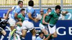 Jacob Stockdale returns to the Ireland left wing for the World Rugby U20 Championships Pool C decider against New Zealand on Wednesday  night. Photo: Matteo Ciambelli/Inpho