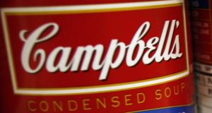 Campbell Soup is the latest packaged-food company to use acquisitions to add more up-to-date products and reinvigorate sales. Photograph: Joshua Lott/Reuters