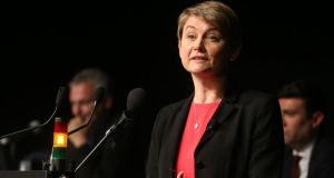Yvette Cooper: served in the cabinet between 2008 and 2010 under Gordon Brown, first as chief secretary to the treasury and then as secretary of state for work and pensions. Photograph: Niall Carson/PA Wire