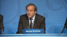 Platini refuses to talk about FIFA