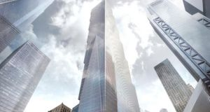 Bjarke Ingels' design for Two World Trade Center
