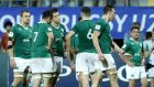 Ireland's Under 20s were beaten 25-3 by New Zealand ending their hopes of World Cup glory. Photograph: Inpho