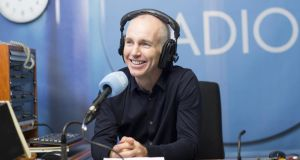 Ray D'Arcy: welcomed back at RTE Radio 1