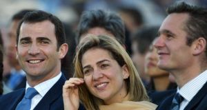 The title of Duchess of Palma de Mallorca was conferred on Cristina de Borbon by her father on her marriage in 1997 to former Olympic handball player Inaki Urdangarin, who has been charged with fraud and embezzling public funds following a long-running investigation into his Noos Foundation charity. Photograph: Vincenzo Pinto/AFP/Getty Images