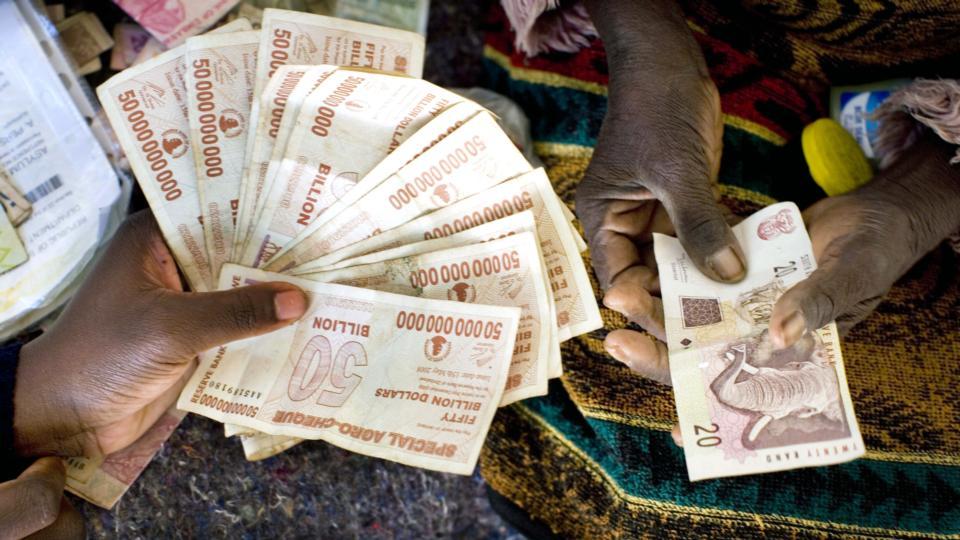 Zimbabweans To Get 5 For 175 Quadrillion Local Dollars