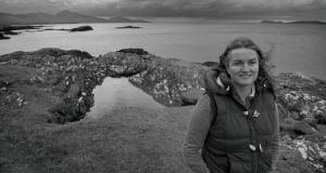 Generations: Siobhan Healy, at Trá an Adhmad, Eyries, on the Beara peninsula. Photograph: Michael Mac Sweeney/ Provision