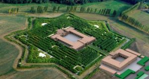 The world's biggest maze:  the 19-acre maze in Italy has taken eight years to build and is made up of 200,000 bamboo plants and three kilometres of inside paths