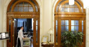 The Tea Rooms in Clerys. Photograph: Dara Mac Dónaill