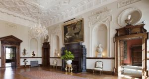 Entrance hall of Russborough House. The foundation reports that it made just €187,678 on admissions to the house and maze last year