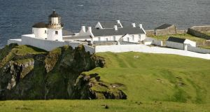 The light house, Clare Island, Co Mayo