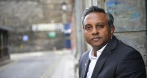 Salil Shetty, secretary general of Amnesty International. Mr Shetty has defended the organisation's call for the repeal of the Eighth Amendment to the Constitution.  Photograph: Aidan Crawley/The Irish Times
