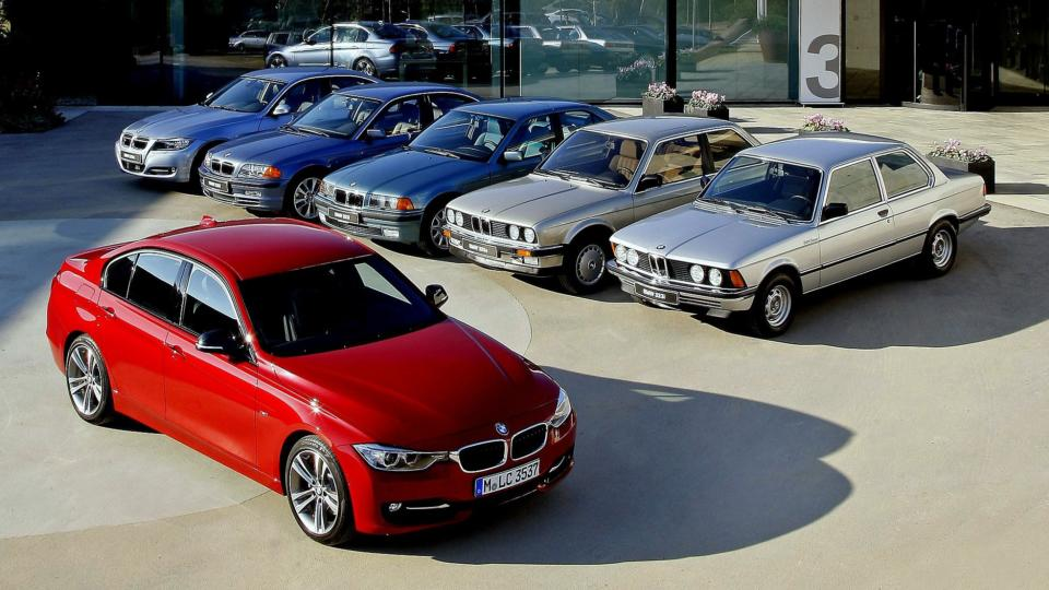 Bmws big selling 3 series hits its 40th birthday fandeluxe Choice Image