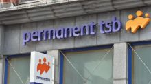 Permanent TSB finished the day up 2.8 per cent at €4.45 following a positive note from Bank of America