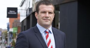 Shane Jennings: His appointment comes after he spent a number of months with the agency on an executive work placement programme organised by the Irish Rugby Union Players' Association (IRUPA).