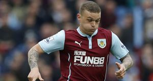 Tottenham are poised to sign Burnley's Kieran Tripper in a deal worth €4.9 million. Photograph: PA