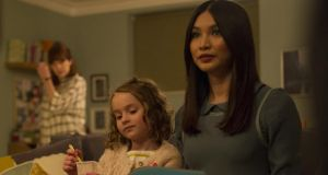 Mesmerising: Gemma Chan as Anita, with Pixie Davies as Sophie, in Humans