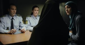 A scene from Listen,  the winning short film at the  Irish Council for Civil Liberties (ICCL) Human Rights Film Awards 2015.