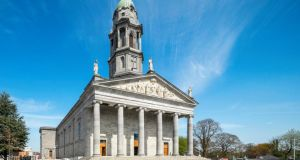 The exterior of St Mel's Cathedral in Longford  , which won the public choice award in the RIAI Irish Architecture Awards