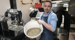 Adam McMenamin, proprietor of Rathmines coffee shop Two Fifty Square.Photograph: Dave Meehan