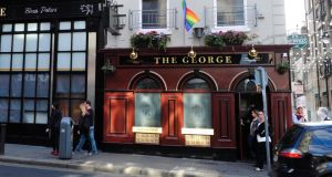 The George pub on South Great Georges Street in  Dublin is part of the Danu portfolio. Photograph: Aidan Crawley