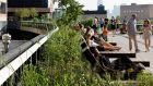 The High Line in New York city is a great example of how planting and gardens can transform an urban experience