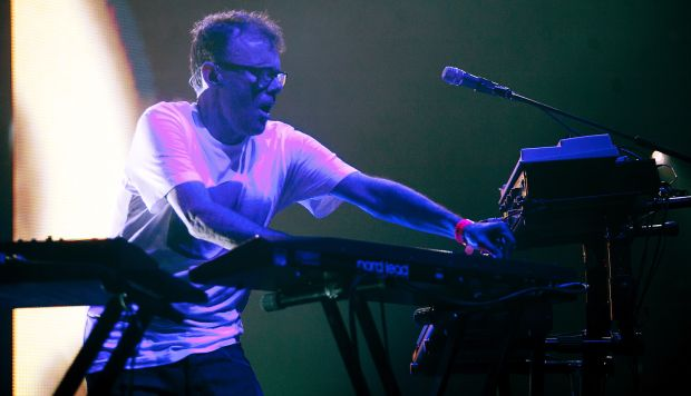 one of the loudest in the business: Neil Barnes of Leftfield