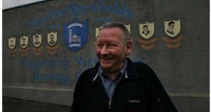Tipperary great  Jimmy Doyle pictured in June 2005  at  Thurles Sarsfields  at Semple Stadium.  Photo: Bryan O'Brien/Irish Times