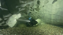 Take a dip through Sweden's longest underwater cave