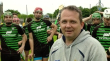 Clare hurlers take on the crossbar challenge for charity