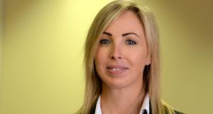 Data Protection Commissioner Helen Dixon, at the publication of her office's annual report. Photograph: Cyril Byrne