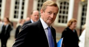 Taoiseach Enda Kenny said about 32,000 people would 'transition' out of the lone-parent payment. Photograph: Cyril Byrne