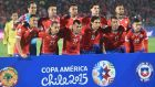 Hosts Chile have never won it, but finished unbeaten and top of Group A. Photograph: Rodrigo Arangua/AFP/Getty Images