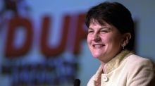 NI Finance Minister  Arlene Foster.  Her first budget has cross-party support.  Photograph: Eric Luke/The Irish Times