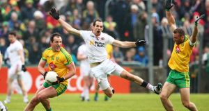 Michael Murphy:  against Armagh  he touched the ball an incredible 51 times. Photograph: Cathal Noonan/Inpho