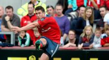 Ian Keatley: left out of Ireland's 45-man training panel for the World Cup.  Photograph: James Crombie/Inpho